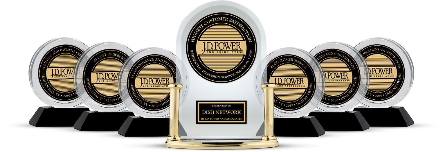 DISH Customer Satisfaction - Ranked #1 by JD Power - ASAP Satellites in Auburn, California - DISH Authorized Retailer