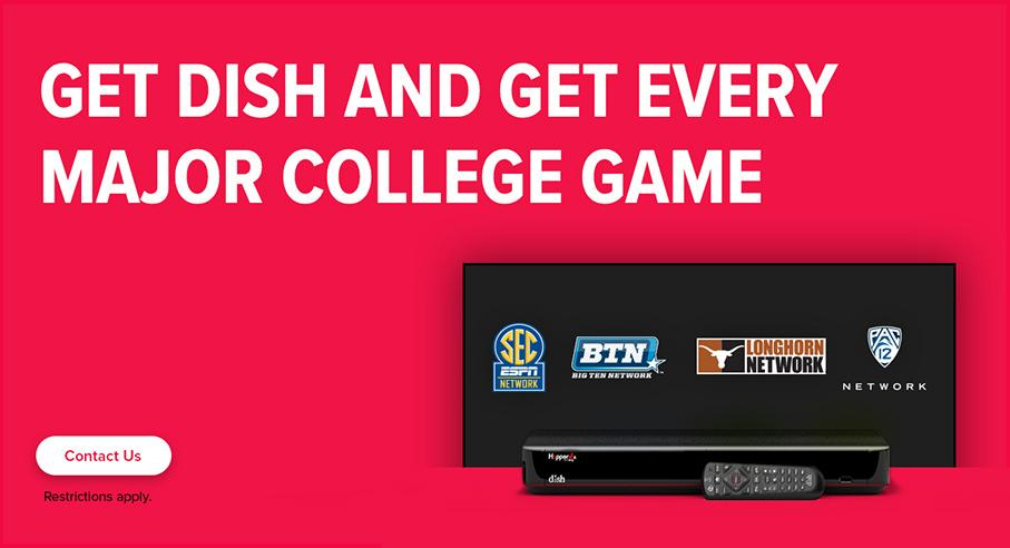 Sports TV Package - College Sports - Auburn, California - ASAP Satellites - DISH Authorized Retailer