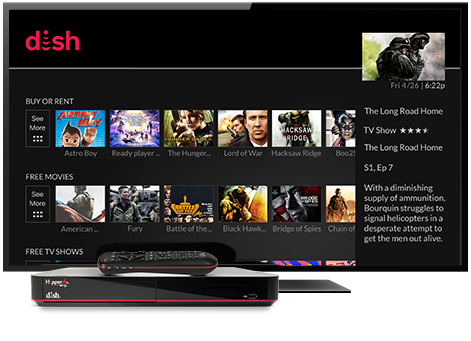 Ondemand TV from DISH | ASAP Satellites